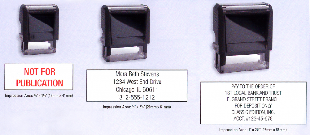 Rubber Stamp Custom Design Houston Print Shop Services