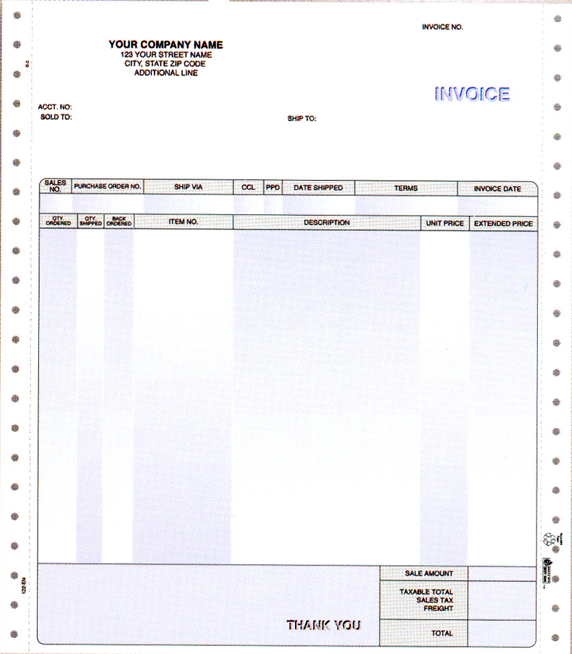 Business Invoice Printing Design Houston Print Shop Services - What is an invoice for for service business