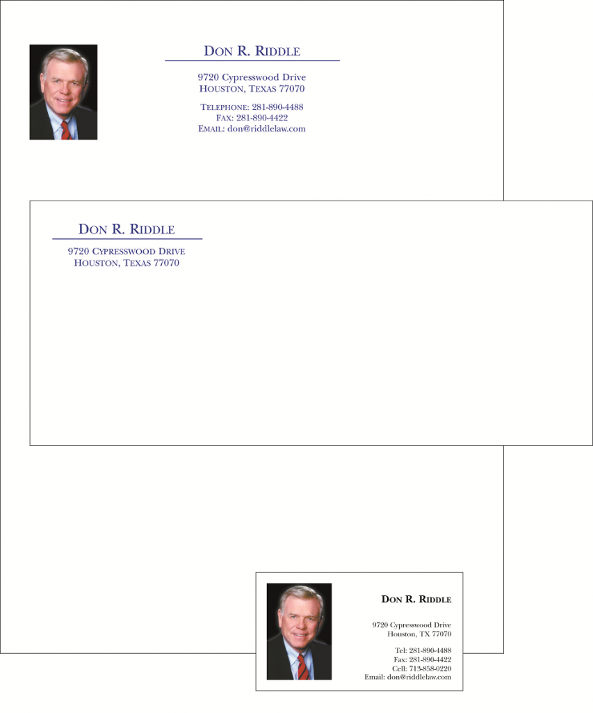 Business Letterhead Printing  Design  Houston Print Shop Services